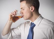man-drinking