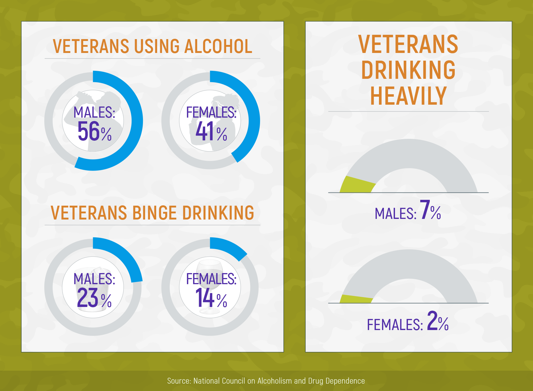 Alcoholism in Military: Why Servicemen and Veterans Abuse