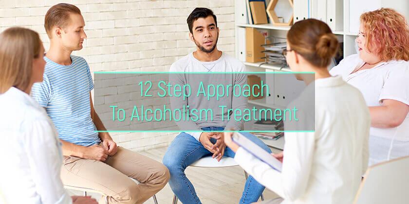 12-step alcoholism treatment