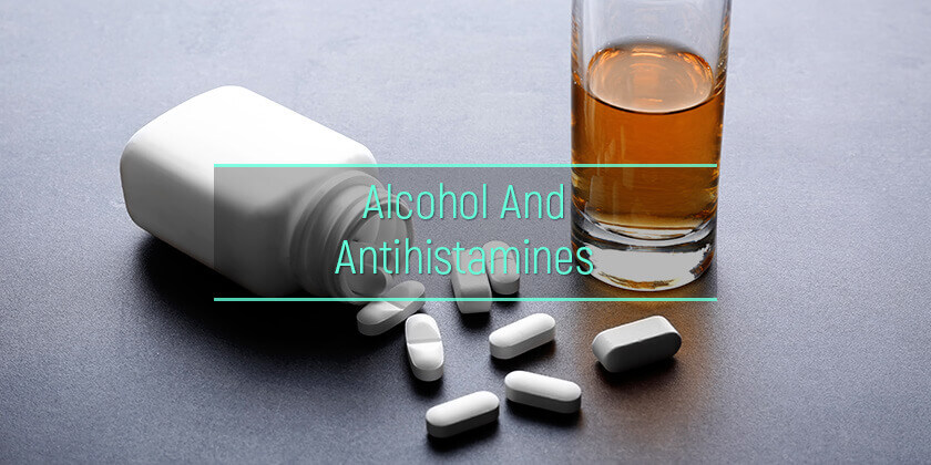 alcohol and antihistamines