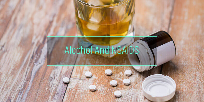 NSAIDS and alcohol