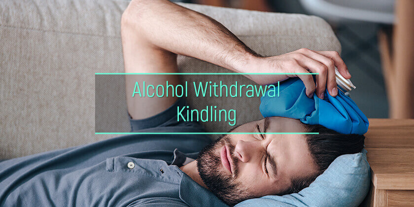 withdrawal kindling after alcohol