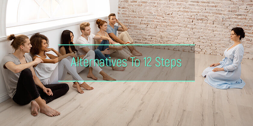 alternatives to 12 steps alcoholism treatment
