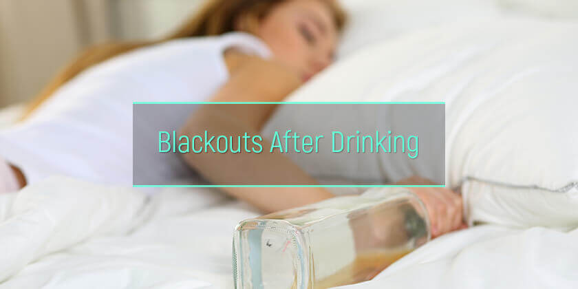 Blackouts and memory loss after alcohol