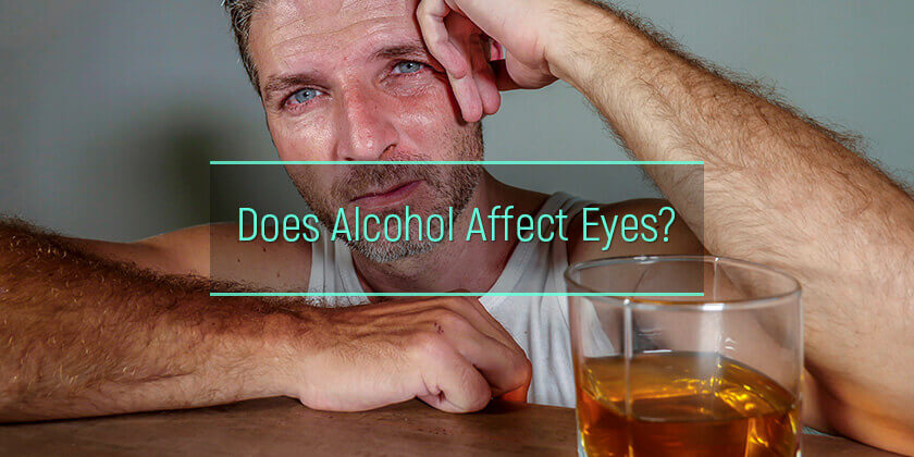 alcohol effects on eyes