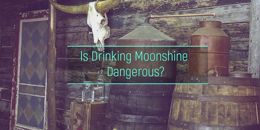 Drinking Moonshine Alcohol