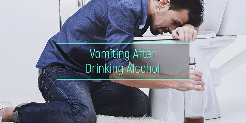 alcohol-induced vomiting