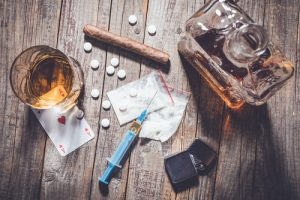 alcohol and methamphetamine