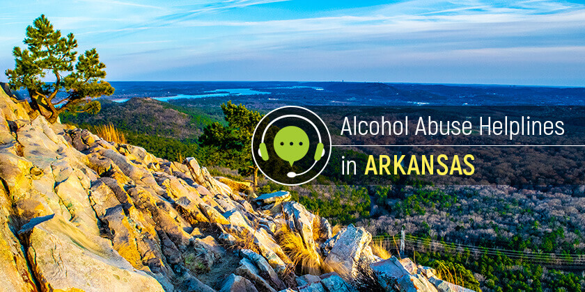 alcoholism hotlines in Arkansas