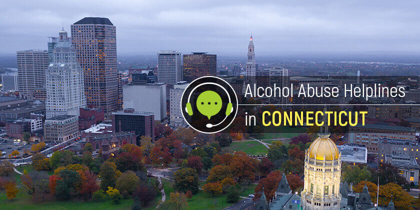 alcoholism help hotlines connecticut