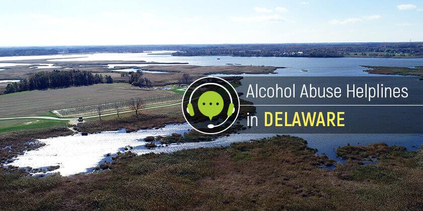 Delaware alcohol hotlines