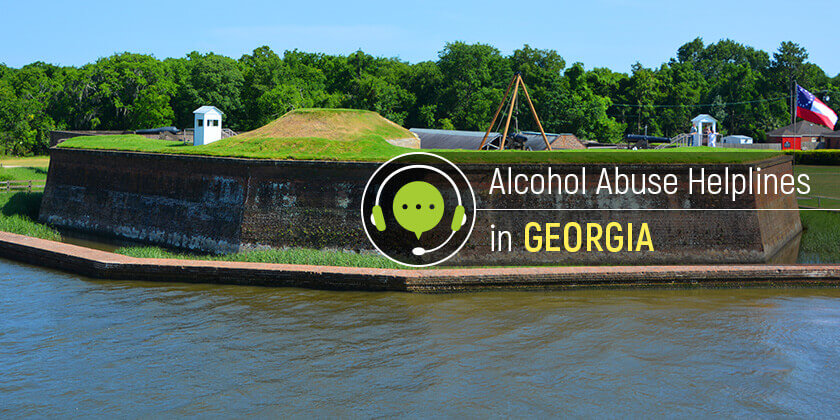 alcohol help hotlines in Georgia state
