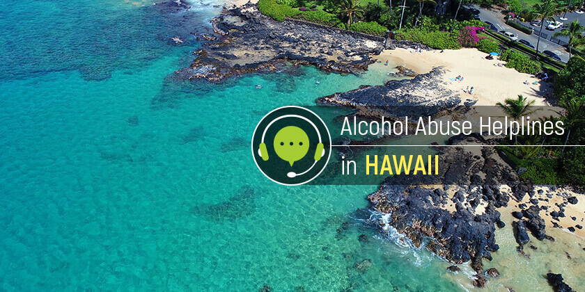 alcohol helpline numbers in Hawaii
