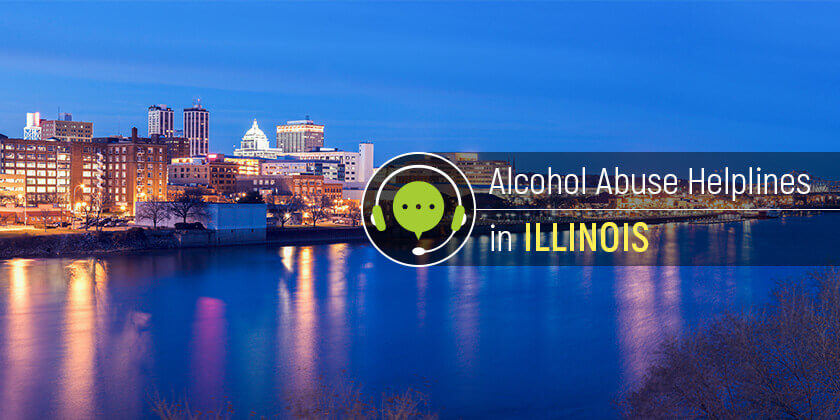 Alcoholism hotlines in Illinois
