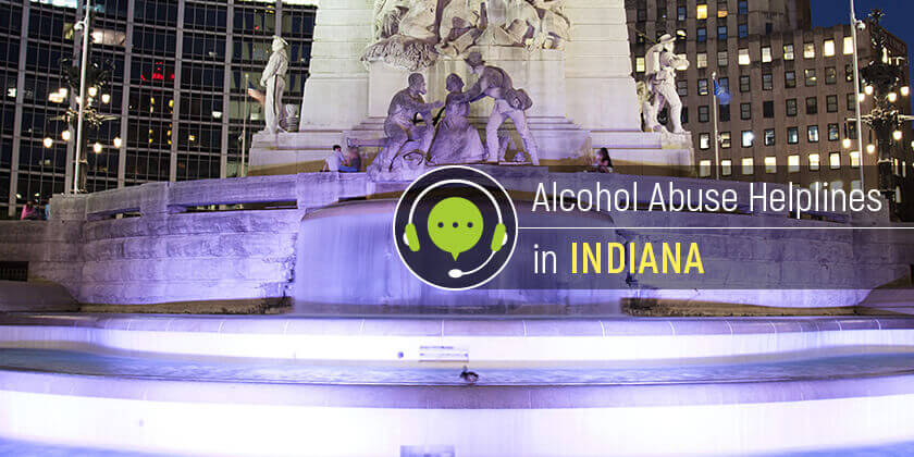 alcohol helplines in Indiana
