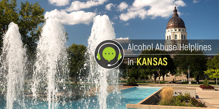 alcohol abuse helplines in Kansas