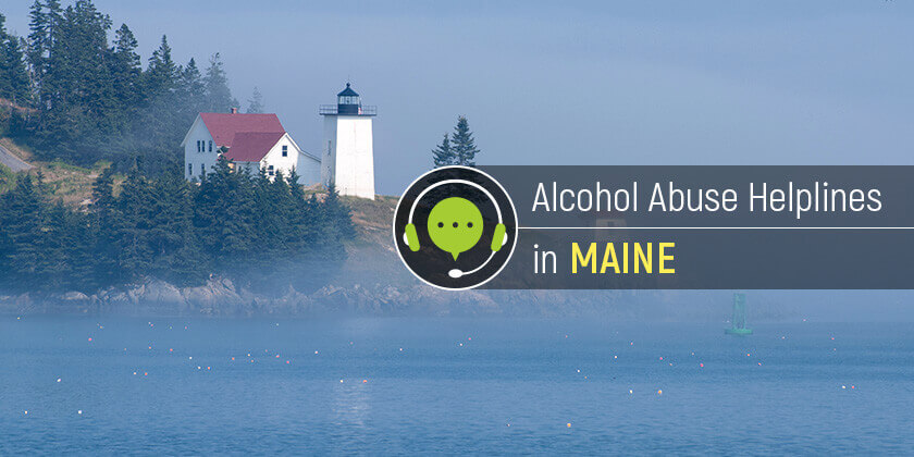 alcohol hotline in Maine