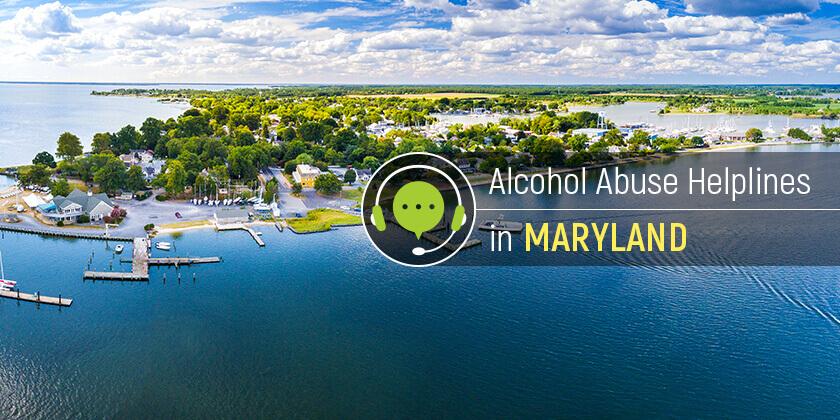 alcoholism helplines in Maryland