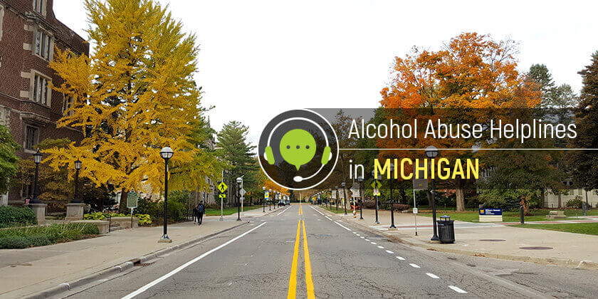 alcohol helplines in Michigan