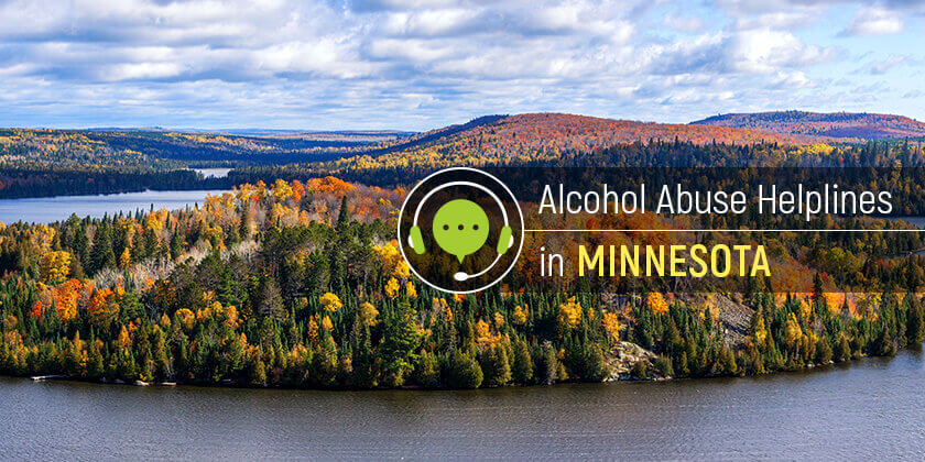 alcohol helpline in Minnesota