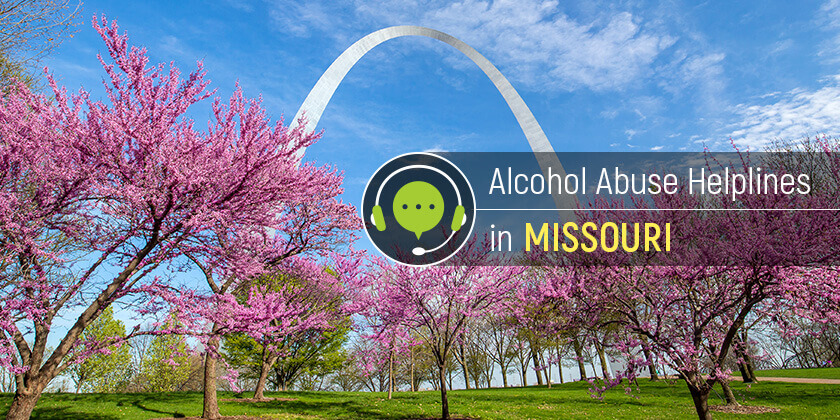 alcohol heplines in Missouri