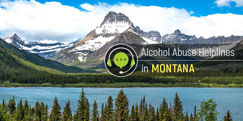 Alcohol use hotlines in Montana
