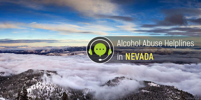 alcohol helplines in Nevada