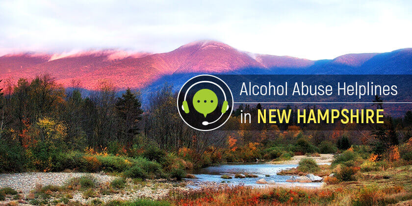 Alcohol helplines in New Hampshire