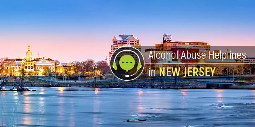 alcohol hotline in New Jersey