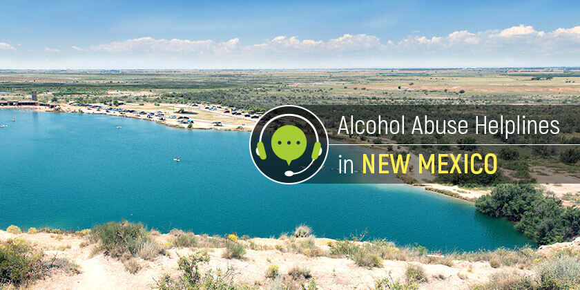 alcohol helplines in New Mexico