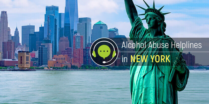 alcohol hotlines in New York