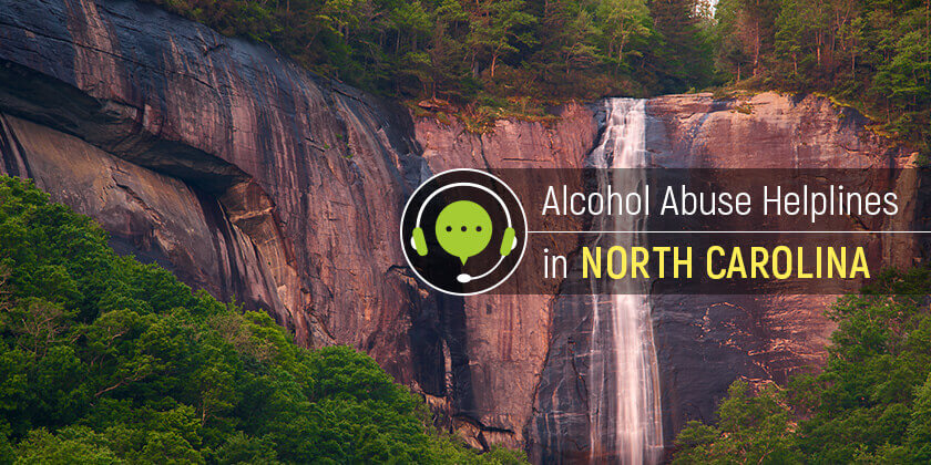 alcohol helpline in North Carolina