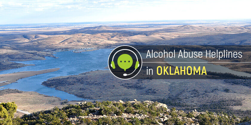 alcohol helplines in oklahoma