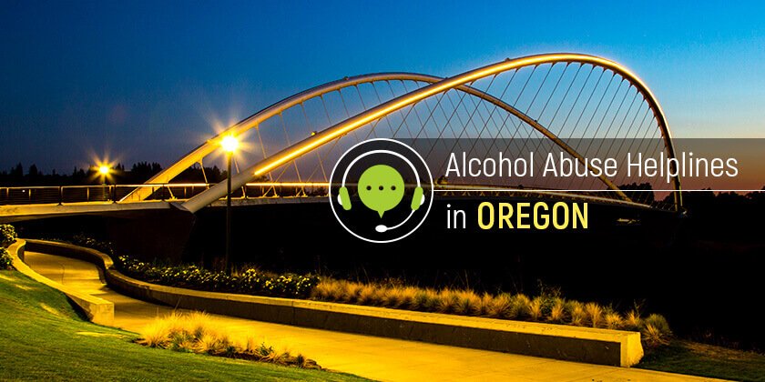 alcohol helplines in Oregon