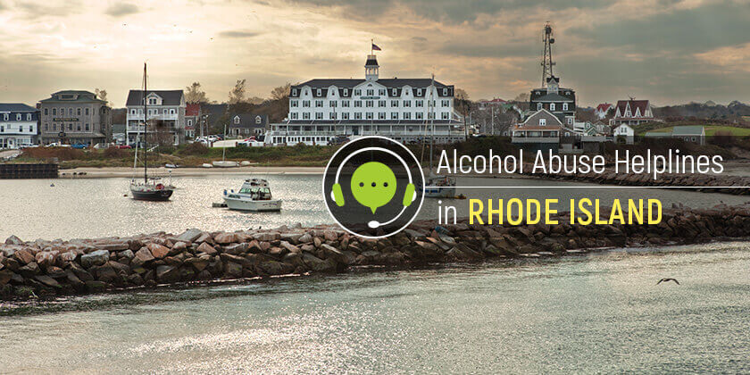 alcohol hotlines in Rhode Island