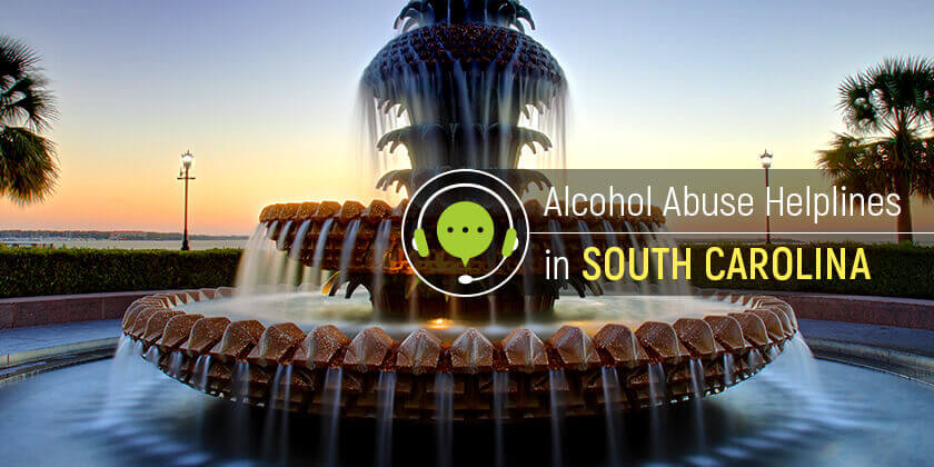 alcohol abuse hotlines in South Carolina