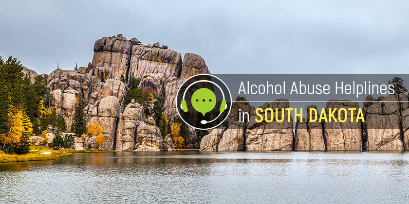 alcohol helplines in South Dakota