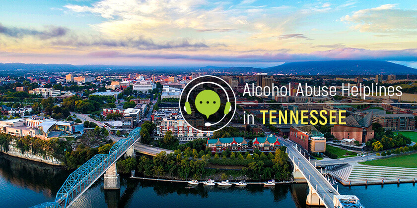alcohol helplines in Tennessee