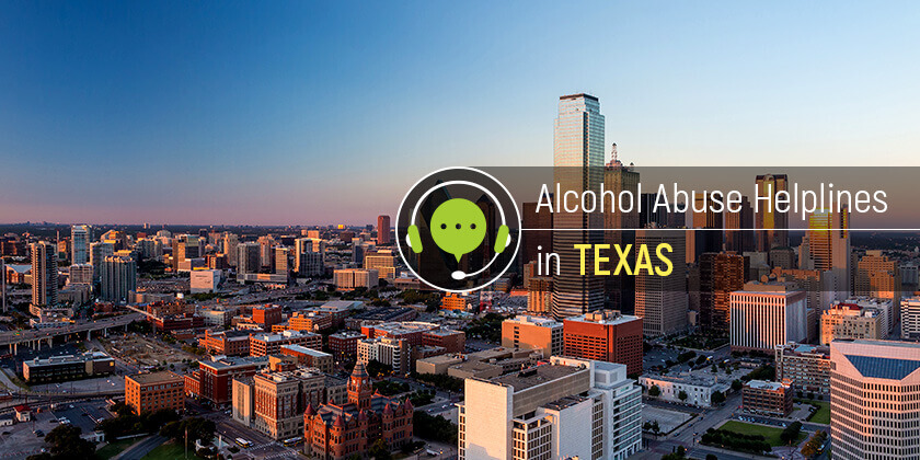 alcoholism hotlines in Texas