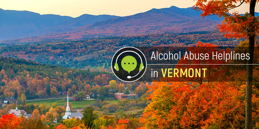 alcohol hotline in Vermont