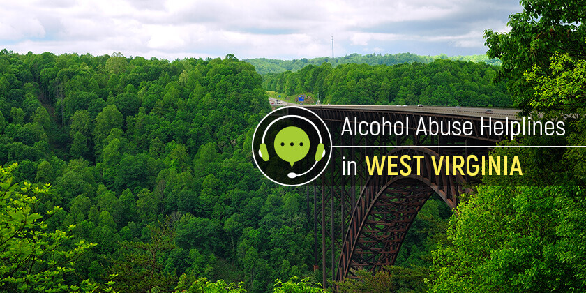 alcohol addiction helplines in West Virginia