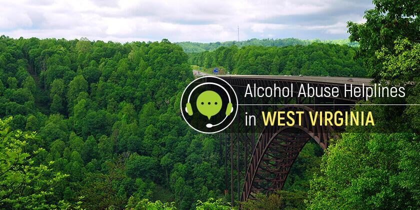alcohol addiction helplines in West Virginia