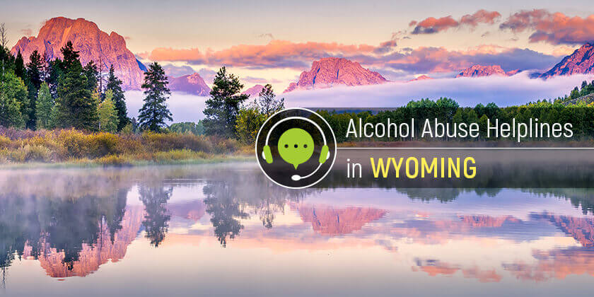 alcohol helplines in wyoming