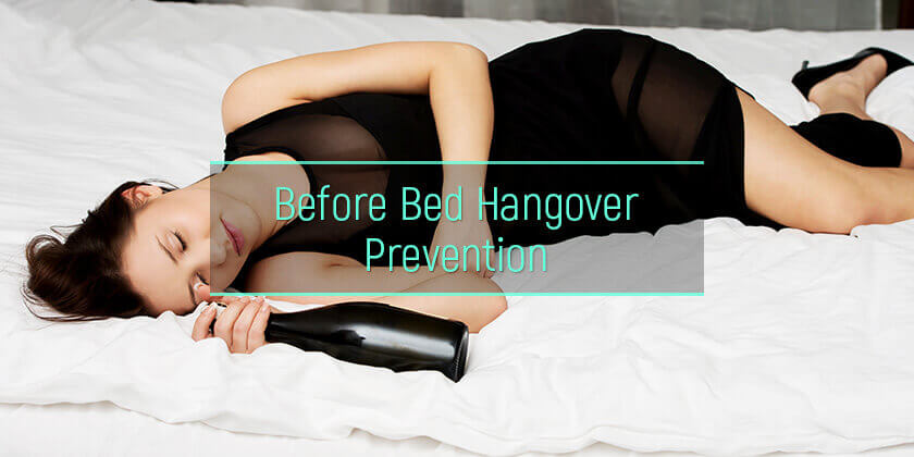 how to prevent hangover when already drunk