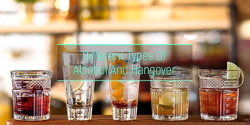 Types of alcohol and hangover severity