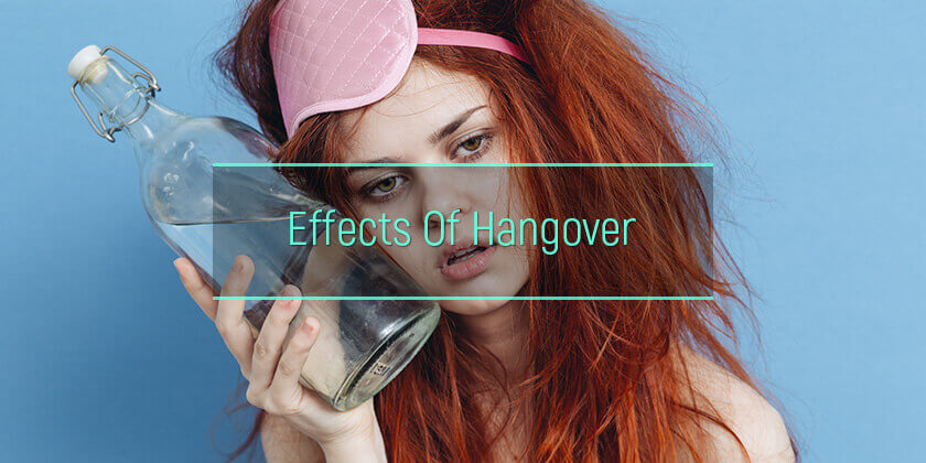 hangover effects on body
