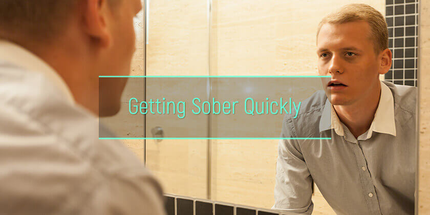 how to sober up quickly