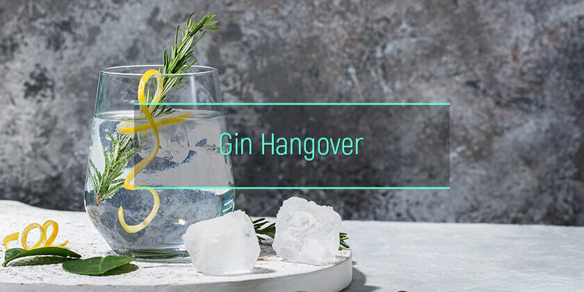 gin hangover