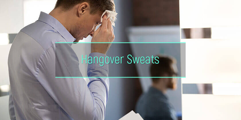 hangover sweats