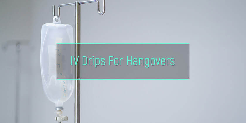 hangover iv drips cure